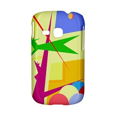 Colorful abstract art Samsung Galaxy S6310 Hardshell Case