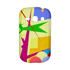 Colorful abstract art Samsung Galaxy S6810 Hardshell Case