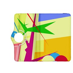 Colorful abstract art Kindle Fire HDX 8.9  Flip 360 Case