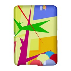 Colorful abstract art Amazon Kindle Fire (2012) Hardshell Case