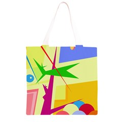 Colorful abstract art Grocery Light Tote Bag