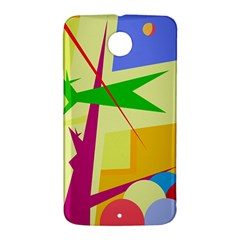 Colorful abstract art Nexus 6 Case (White)