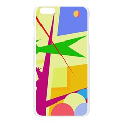 Colorful abstract art Apple Seamless iPhone 6 Plus/6S Plus Case (Transparent)