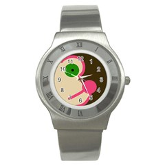 Dog face Stainless Steel Watch