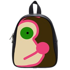 Dog face School Bags (Small)