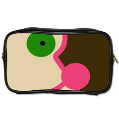 Dog face Toiletries Bags 2-Side