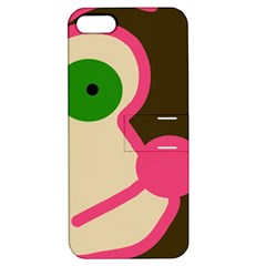 Dog face Apple iPhone 5 Hardshell Case with Stand