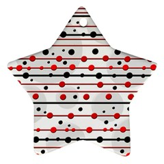 Dots and lines Ornament (Star)