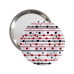Dots and lines 2.25  Handbag Mirrors