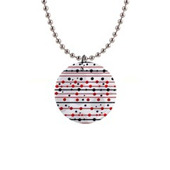 Dots and lines Button Necklaces