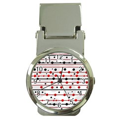 Dots and lines Money Clip Watches