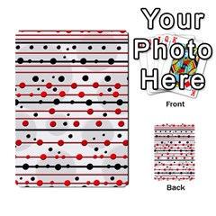 Dots and lines Multi-purpose Cards (Rectangle)