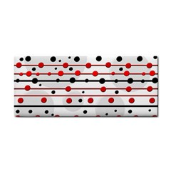Dots and lines Hand Towel