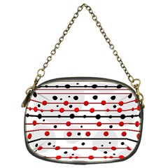 Dots and lines Chain Purses (One Side)