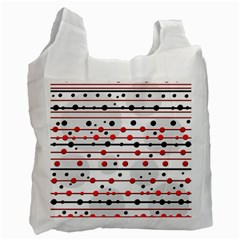 Dots and lines Recycle Bag (Two Side)