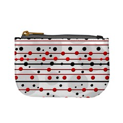 Dots and lines Mini Coin Purses