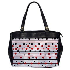 Dots and lines Office Handbags