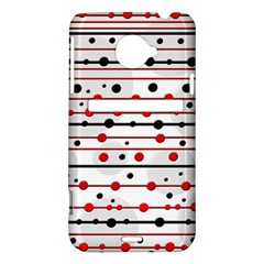 Dots and lines HTC Evo 4G LTE Hardshell Case