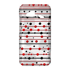 Dots and lines HTC Droid Incredible 4G LTE Hardshell Case