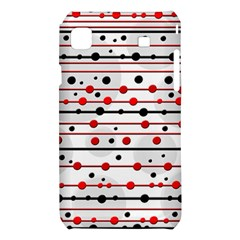 Dots and lines Samsung Galaxy S i9008 Hardshell Case