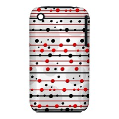 Dots and lines Apple iPhone 3G/3GS Hardshell Case (PC+Silicone)