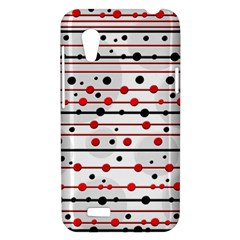 Dots and lines HTC Desire VT (T328T) Hardshell Case