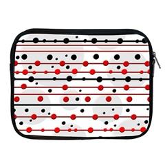 Dots and lines Apple iPad 2/3/4 Zipper Cases