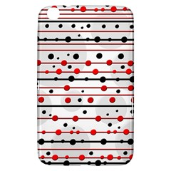Dots and lines Samsung Galaxy Tab 3 (8 ) T3100 Hardshell Case