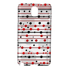 Dots and lines Samsung Galaxy Note 3 N9005 Hardshell Case