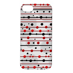 Dots and lines Apple iPhone 5S/ SE Hardshell Case