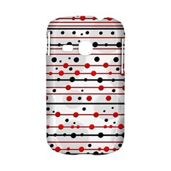 Dots and lines Samsung Galaxy S6310 Hardshell Case