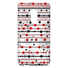 Dots and lines HTC One Max (T6) Hardshell Case