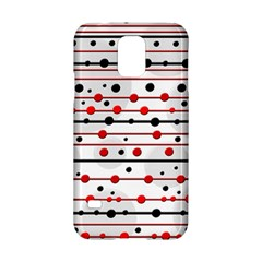 Dots and lines Samsung Galaxy S5 Hardshell Case