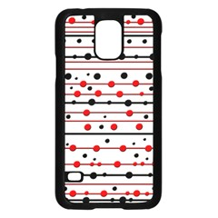 Dots and lines Samsung Galaxy S5 Case (Black)