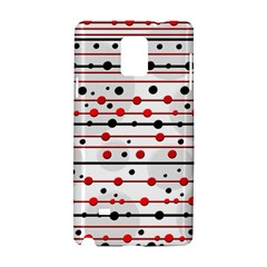 Dots and lines Samsung Galaxy Note 4 Hardshell Case