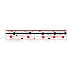 Dots And Lines Flano Scarf (mini)