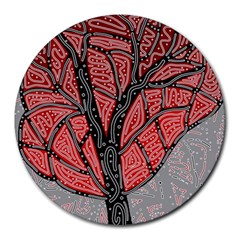 Decorative tree 1 Round Mousepads