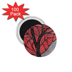 Decorative tree 1 1.75  Magnets (100 pack)