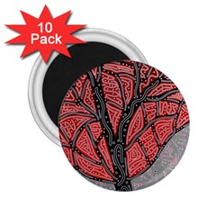 Decorative tree 1 2.25  Magnets (10 pack)