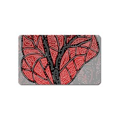 Decorative tree 1 Magnet (Name Card)