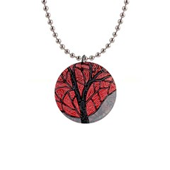Decorative tree 1 Button Necklaces