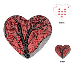 Decorative tree 1 Playing Cards (Heart)