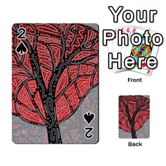 Decorative Tree 1 Playing Cards 54 Designs