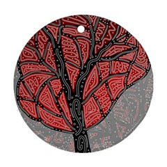 Decorative tree 1 Round Ornament (Two Sides)