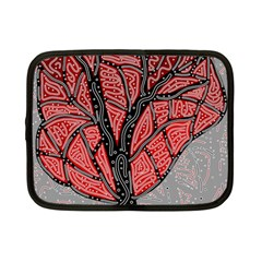Decorative tree 1 Netbook Case (Small)