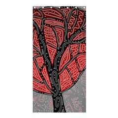 Decorative tree 1 Shower Curtain 36  x 72  (Stall)