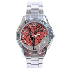 Decorative tree 1 Stainless Steel Analogue Watch