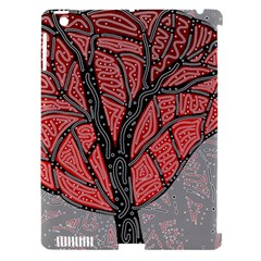 Decorative tree 1 Apple iPad 3/4 Hardshell Case (Compatible with Smart Cover)