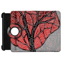 Decorative tree 1 Kindle Fire HD Flip 360 Case