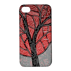 Decorative tree 1 Apple iPhone 4/4S Hardshell Case with Stand